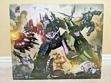 SDCC 2012 Transformers Generations Fall of Cybertron FOC Bruticus Box Set