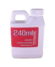 Dye Sublimation Ink Magenta 240ml bottle for Brother Inkjet Printers