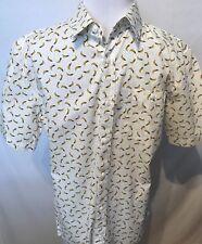 DJAB Mens Shirt Banana Print Size Small NEW