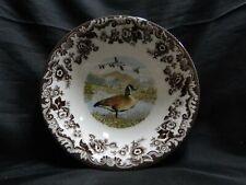 "Spode Woodland Canada Goose: Ascot Cereal / Soup Bowl (s), 8"", Box"