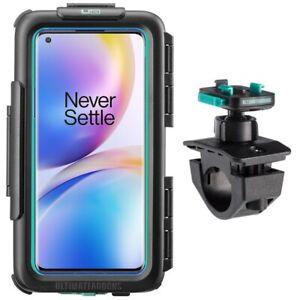 Universal waterproof case for OnePlus + bike handlebar mount by Ultimateaddons