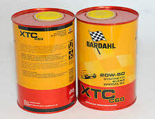 BARDAHL Olio auto XTC C60 20W50 1lt formula PolarPlus Fullerene
