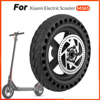 Rear Tire Wheel Hub Tyre Set Replacement Parts for Xiaomi Mijia M365 E-Scooter
