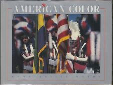 American Color by Constantine Manos (1995) SIGNED HC/DJ 1ST/1ST ~80 COLOR PHOTOS