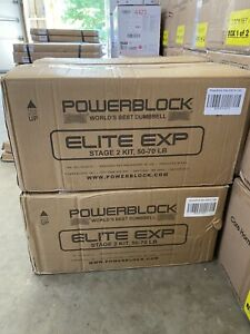 POWERBLOCK ELITE EXP STAGE 2 PAIR (2020) 50-70 LBS ⚡️FREE SHIPPING⚡️🚚✅IN HAND!