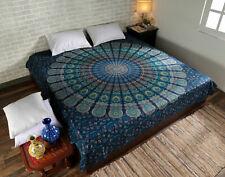 Mandala Multicolor Tapestry Indian Wall Hanging Decor Hippie Queen Bedspread