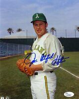 Jim Catfish Hunter Jsa Authenticated Signed 8x10 Photo Autograph