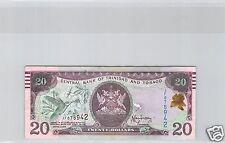 TRINITE ET TOBAGO $20 DOLLARS 2006 N° JF075942 PICK 49