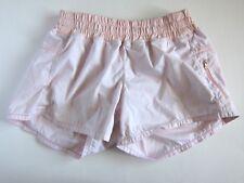 Lululemon Tracker Blush Quartz Wee Stripe White Pink SZ 6