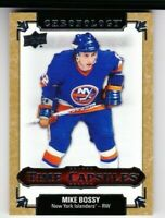 2018-19 CHRONOLOGY MIKE BOSSY TIME CAPSULES RIP CARD 24/25! TC47 ISLANDERS PD