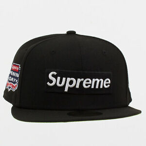 Supreme FW21 No Comp Box Logo New Era hat cap logo tee box sweatshirt