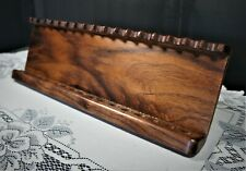 17 Pen Solid Walnut free standing  display stand,
