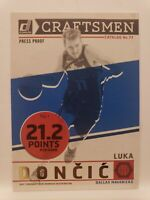 Luka Doncic GOLD PRESS PROOF 2019-20 Donruss Craftsmen Dallas Mavericks
