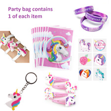 Unicorn Pre Filled Party Bags MIN ORDER 4 BAGS Ready Made Goody Birthday Party