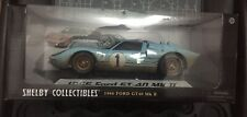 1/18 Shelby Collectibles 1966 Ford GT40 MKII Ken Miles & Hulme Weathered Le Mans