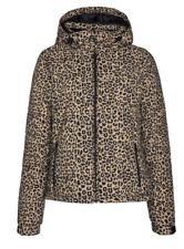 PROTEST Dallas Snow Ski Jacket Ladies Leopard Print UK SELLER