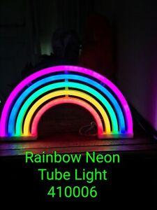 Rainbow Neon Sign Lights Wall Decor Home Decoration Light Lamp