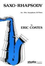 COATES SAXO-RHAPSODY Alto Sax & Piano