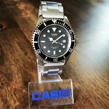 CLEAN Vintage Casio MTD-1010 Submariner 100M Analog Diver Watch Japan Movement