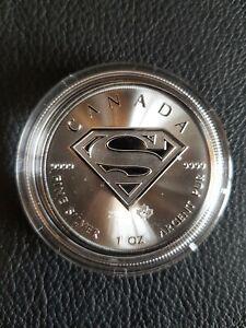 1 oz Silver Coin SUPERMAN!!!.999