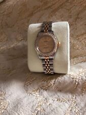 """Ladies Rolex Oyster Perpetual, Two Tone Gold and Steel, with """"Diamond"""" Bezel"""