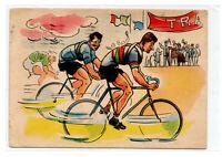 1952 STORIA DELLA BICICLETTA. ALFREDO BINDA E LEANDRO GUERRA. VIAGGIATA