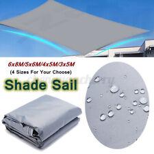 10-26ft Sun Sail Shade Awnings Canopy Garden Sun Cover Waterproof Patio Sunscree