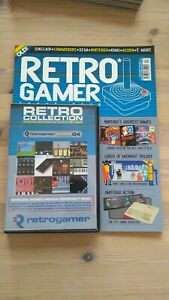 RETRO GAMER VOLUME 1 ONE ISSUE 4 FOUR MAGAZINE & COVER DISC CD MAY 2004 NINTENDO