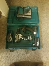 Makita Brushless Drill Combo Set - XDT15 & XFD01 w/2 Batteries & Charger in Case