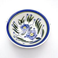 Vintage Claudia Bernini Keramik Schale, Schüssel mit Blumendekor - Made in Italy