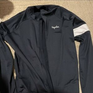 Rapha Core Long Sleeves Jersey Men's Size XL Black Great Condition