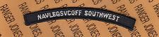 USN Navy Legal Service Office NAVLEGSVCOFF Southwest tab rocker arc patch