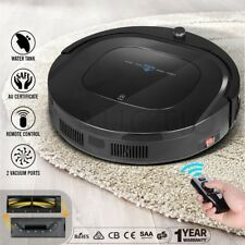 MAXKON 12-in-1 Robot Vacuum Robotic Automatic Cleaner Floor Sweeper Mop With R/C