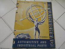 1942 Weatherhead Automotive Industrial Parts Catalog Fuel Lines Stop Lite Switch