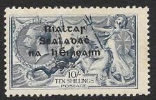 Irlanda 1922 10/- Gris Mate-Azul SG 21 (Menta)