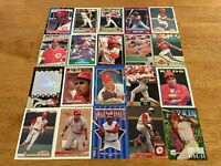 Lot of 100 Barry Larkin Baseball Cards TOPPS DONRUSS SCORE FLEER REDS+++