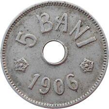 Romania 5 Bani 1906 J KM#31 - Carol I (ROM-15)
