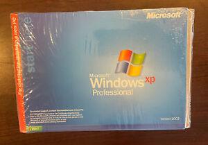 Microsoft Windows XP Professional Full OEM Version Ver.2002 Part # X08-48124 New