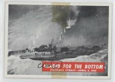 1965 Philadelphia War Bulletin #72 Headed for the Bottom Non-Sports Card 0s4