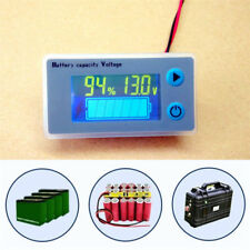 10-100V LCD Battery Capacity Indicator Digital Voltmeter Voltage Tester Monitor