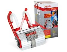 Two-Story Fire Escape Ladder with Anti-Slip Rungs, 13-Foot - Easy to Use