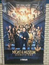Large movie banner / poster - Nigth at the Museum  200 x 150 cm.