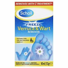 NEW!! Scholl Freeze Verruca and Wart Remover 80 ml. FREE UK DELIVERY!!