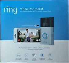 *BRAND NEW* Ring Video Wi-Fi Doorbell 2 / New Version w/ 2 Faceplates