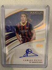 Immaculate Carles Puyol Ink 10/50 Fc Barcelona Autograph