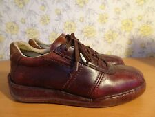 Mens CAT Caterpillar Ox Blood Casual Shoes - UK 8 FREE P&P!