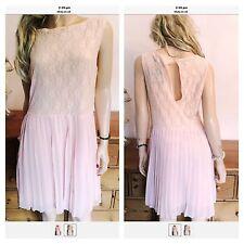 Papaya Polyester Patternless Midi Dresses for Women