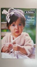 Patons Pattern Book 1304 Sugar Fairies 8 Designs in 4 and 8 Ply