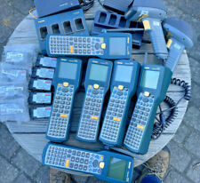 Lot of Assorted Intermec 2425 Scanners and Accessories Batteries Scanners Etc