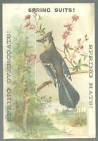 Clothing Suits Besse, Bryant & Co. Bay State Lot of Two Victorian Trade Cards